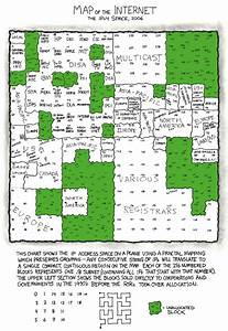 Xkcd  Map Of The Internet