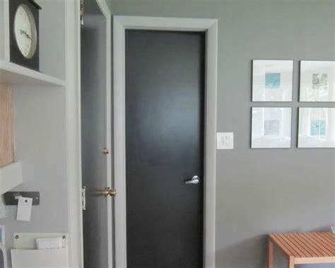 black painted doors perfect   ugly flat doors