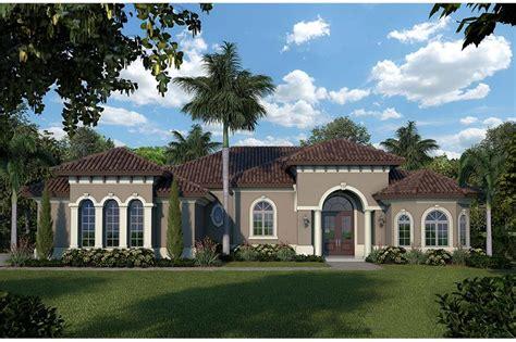 bedrm  sq ft mediterranean house plan
