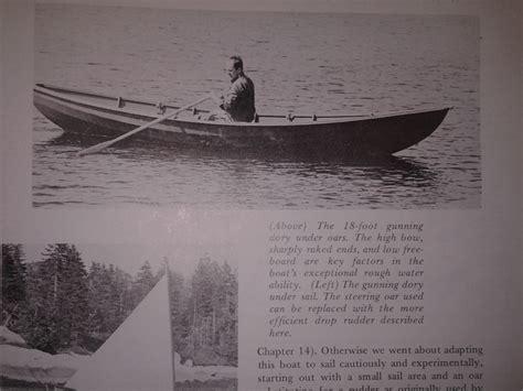 fishing boat popular gardner dory plans
