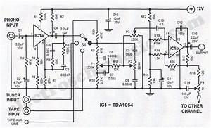 Hi Fi Stereo Preamplifier Circuit