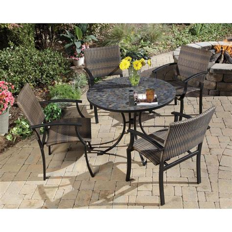 Home Styles Stone Harbor 40 In 5piece Slate Tile Top. Patio Furniture Swivel Rocker Recliner. Patio Table Umbrella Stabilizer. Lucca Patio Table And Chairs. Patio Sets Clearance Free Shipping. Patio Furniture Covers For Square Table. Outdoor Patio Furniture Sets Aluminum. Patio Furniture Iron Vs Aluminum. West Elm Patio Furniture Reviews
