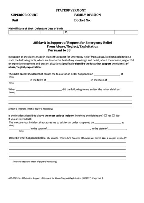 top 9 vermont superior court forms and templates free to
