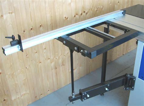 panel table   sliding beam