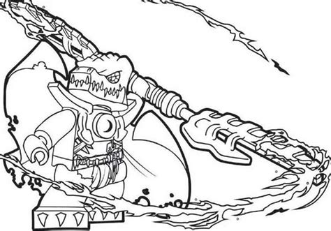Chima - Free Coloring Pages