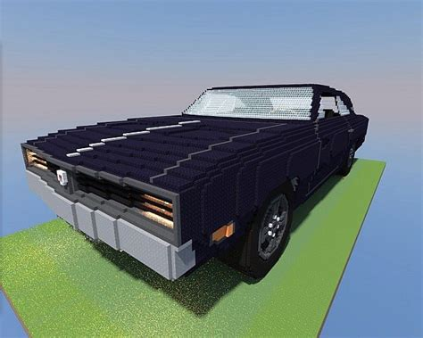 minecraft muscle car dodge charger 69 minecraft project