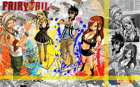 fairy tail team natsu wallpaper  neutral  deviantart