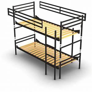Hochbett Aus Metall : zerlegbares etagenbett f r erwachsene aus metall mit lattenrost stabile ausgabe und hergestellt ~ Frokenaadalensverden.com Haus und Dekorationen