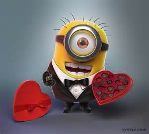 Happy Valentine's Day Minion