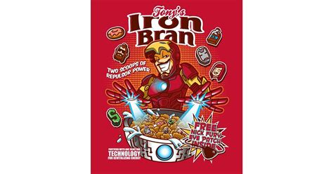 iron bran presenting  favorite superheroes  cereal