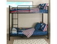 art van loft bed with desk kylie black twin loft bed art van furniture