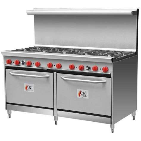 Range Oven Gas Range With Two Ovens