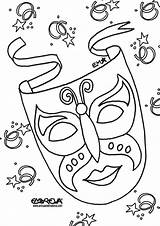 Carnival Coloring Pages Animals Mask Google Masks Mardi Gras Template Circus Colouring Printable Maschere Recherche Adult Karneval Animal Coloriage Getcolorings sketch template