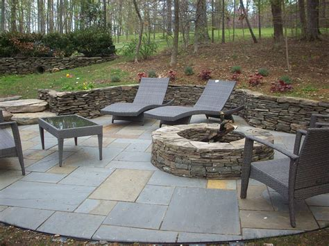 how to build a stacked fireplace landscape landscape design patios