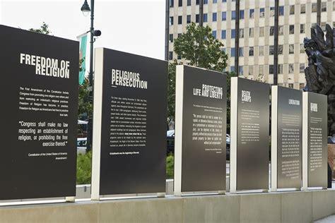 protecting  philadelphia holocaust memorial plaza