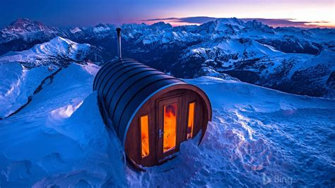Italy Dolomites Lagazuoi Sauna Bing 2018 Preview