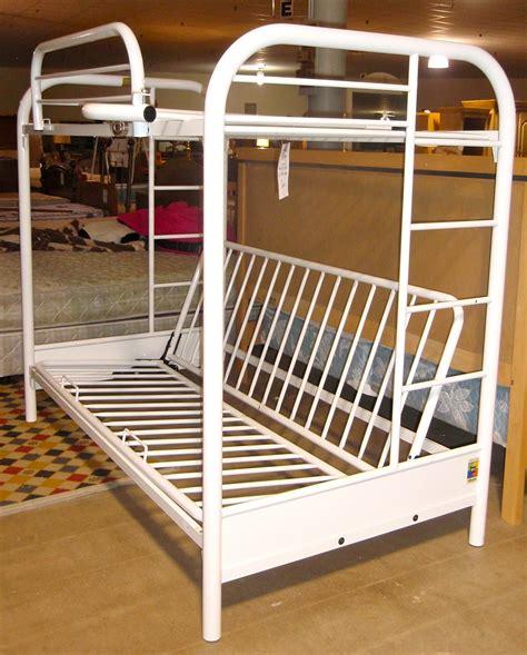 futon bunk bed white metal futon bunk bed bm furnititure