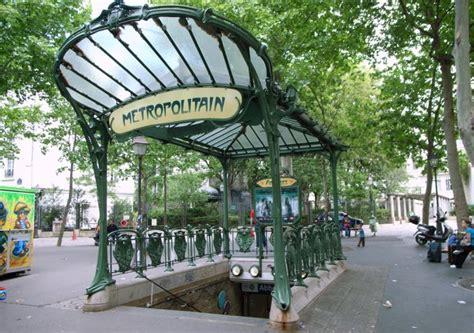 Les Stations De Métro Art Déco à Paris