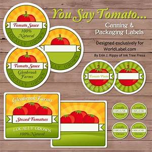 tomato canning labels With canning sticker labels