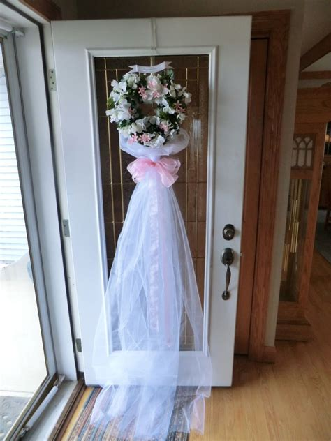 bridal shower door decoration stuff i want to make