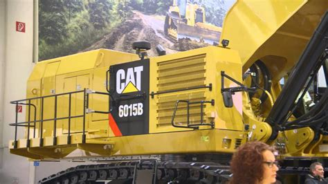 hydraulic shovel bauma munich  video awesomeearthmovers