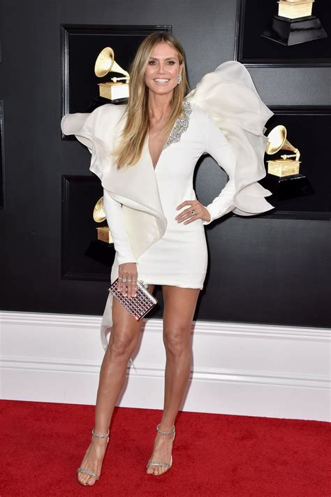 Heidi Klum Grammy Awards