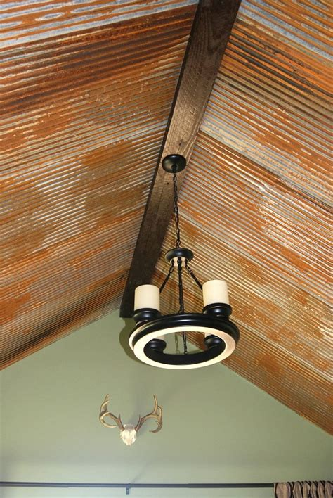 Best 25  Galvanized tin ceiling ideas on Pinterest