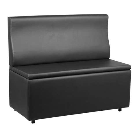 banquette coffre couleur noir longueur 120 cm banq 21 n