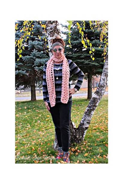 Lace Crochet Amazing Grace Pattern Scarf Ryan