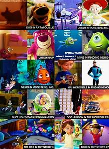 finding nemo, funny, mindfuck, monsters inc, pixar - image ...