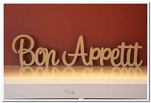 30 aud custom made freestanding wooden words bon With bon appetit wooden letters