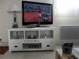 Meuble De Maison : meuble tv maisons du monde photo 1 15 un meuble tv dans le pure style maisons du monde ~ Teatrodelosmanantiales.com Idées de Décoration