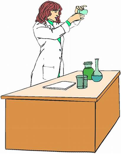 Science Clipart Animations Scientist Hard Moving Chemistry