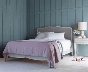chambre bleu et gris idees deco en tons neutres et froids With chambre gris blanc bleu