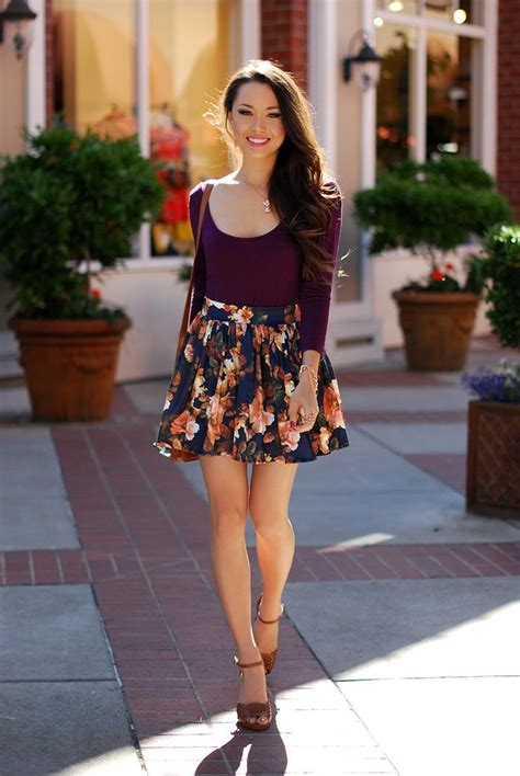 22 Cute Floral Print Outfits Combinations for Spring Season