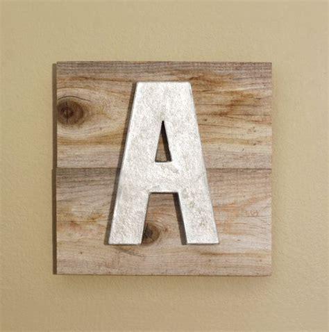 metal  wood letters eat sign rustic restaurant