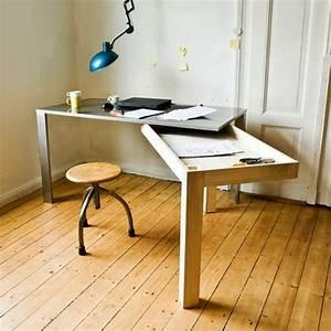 le bureau escamotable decisions pour les petits espaces With superior meuble pour petit appartement 5 60 idees pour un amenagement petit espace archzine fr
