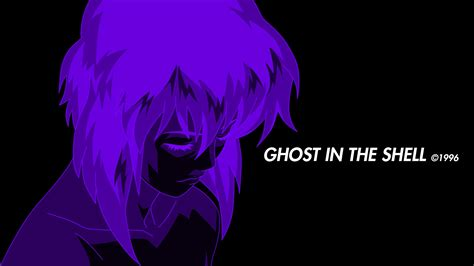 Anime Ghost Wallpaper - ghost in the shell anime purple kusanagi motoko