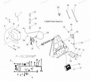 Polaris Atv 2007 Oem Parts Diagram For Electrical