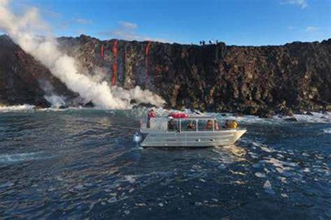 Lava Boat Tours On The Big Island by Lava Tours On The Big Island Hawaii