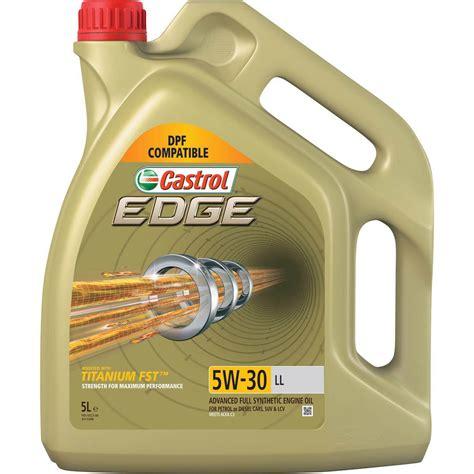 castrol edge 5w30 castrol edge titanium fst 5w 30 ll synthetic vehicle
