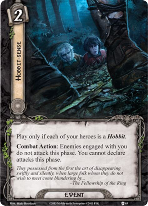lotr lcg deck building strategy encounter at amon din player cards review tales from