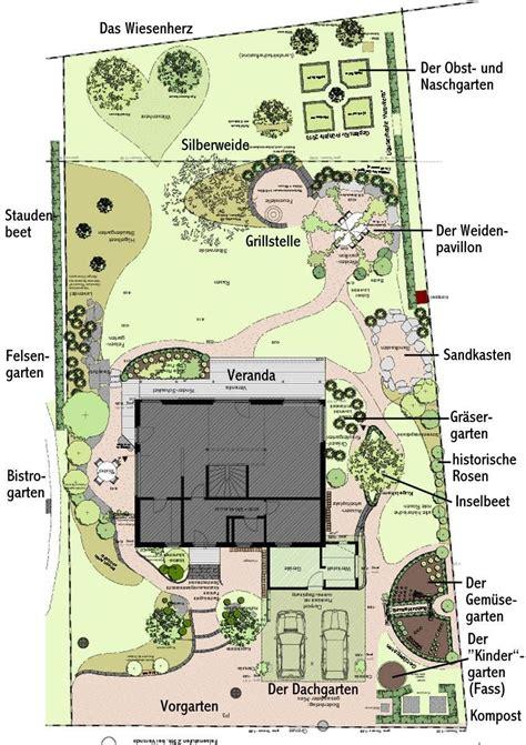 Garten Gestalten Grundriss by Ein Schweizer Garten Weiden Pavillons Und
