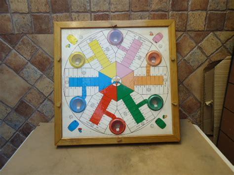 Antiguo juego de parchís y oca automático de los años 70. MIL ANUNCIOS.COM - Juego parchis de 6 de madera es antiguo