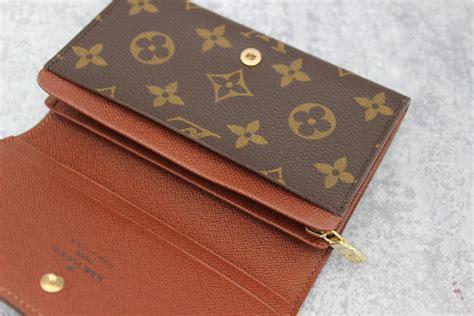 louis vuitton monogram canvas porte monnaie billets tresor wallet at s consignment