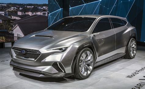Subaru Hatchback Wrx 2020 by ジュネーブモーターショー2018 スバル 次期型 Wrx にワゴンの復活を示唆する新型コンセプトを披露