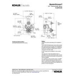kohler kitchen faucets reviews kohler k 2976 ks na mastershower no finish valves