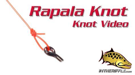 rapala knot loop knot tying video fly fishing knots