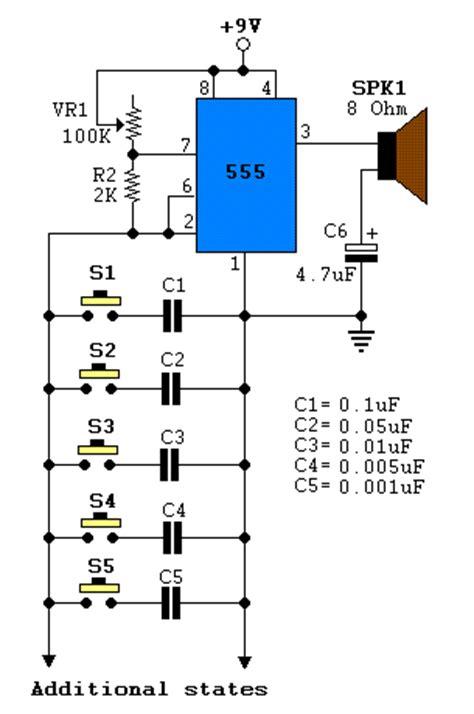 Mini Organ Electronic Circuits Kits