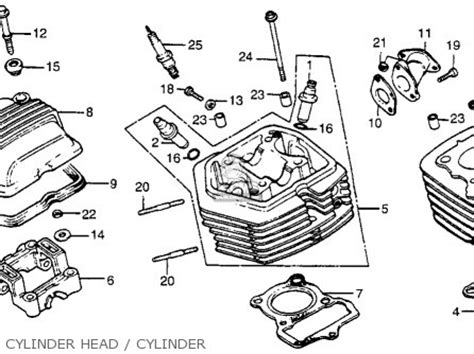 honda xr80 1983 d usa parts lists and schematics